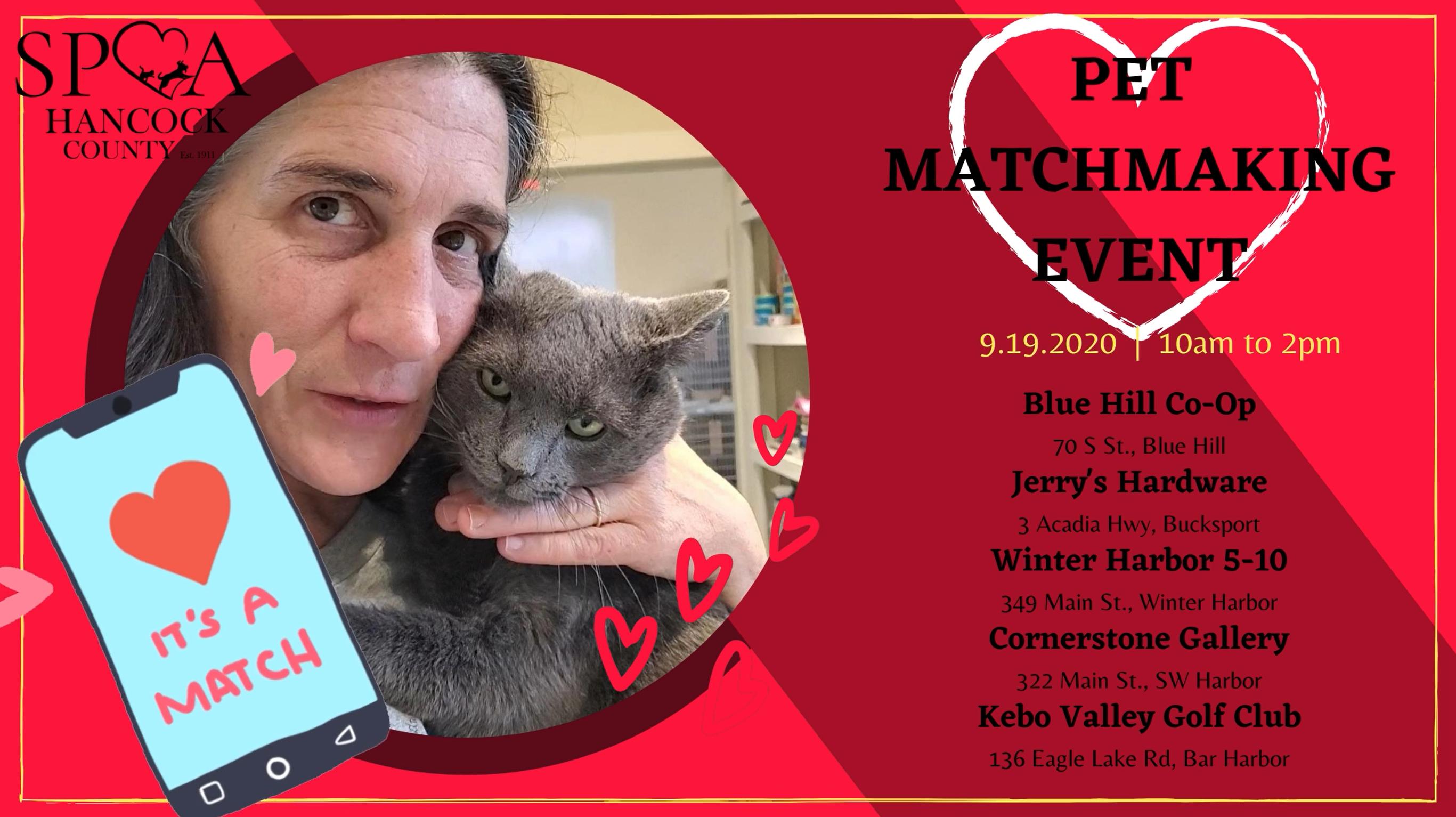 Pet Matchmaking Event