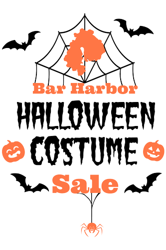 Bar Harbor Halloween Costume Sale