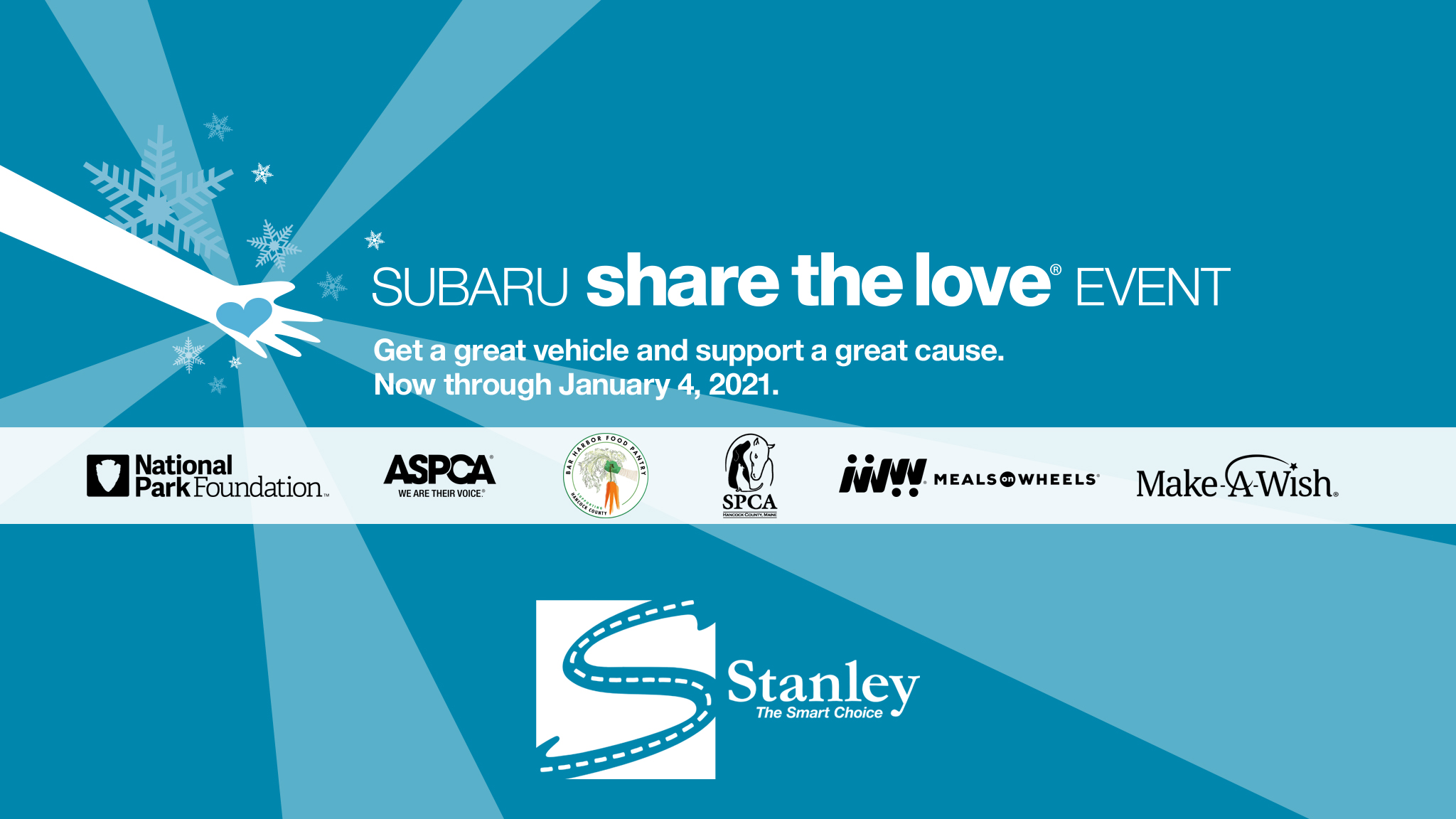"""Read more about the article Stanley Subaru """"Shares the Love"""" with us!"""